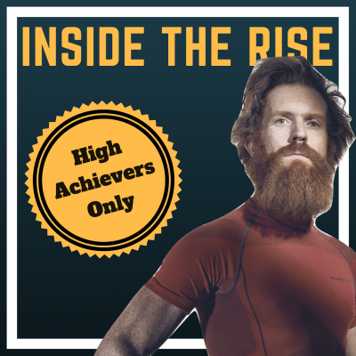 Adventurer Sean Conway explains how to have fun while achieving your highest goals on Inside The Rise podcast with JC Cross
